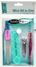 Mini All in One. Nail File, Nail Buffer, Nail Clippers and Tweezers Kit