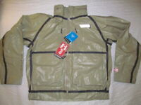 Columbia PFG Flycaster Wading Outdry Exterme Shell man brown jacket sz  XL New