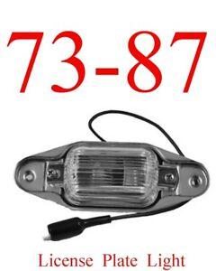 73 87 Chevy License Plate Light GMC C/K Truck Suburban Blazer Jimmy 0849-625