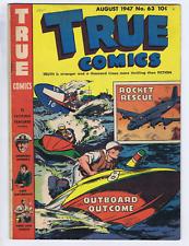 True Comics #63 True Comics Pub. 1947
