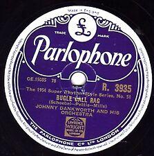 1954 JOHNNY DANKWORTH 78 Bugle call rag/vous allez dans ma tête PARLOPHONE R3935 EX