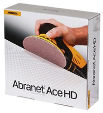 Mirka ABRANET® ACE HEAVY DUTY (HD) 150mm abrasive sanding pads (box of 25 discs)