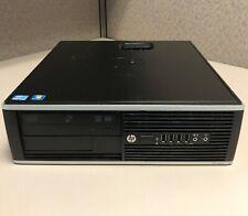 HP 8300 Elite (500GB HDD, Intel Core i5-3470, 3.20GHz, 8GB RAM) Windows 10 pro