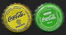 COCA COLA CROWN BOTTLE CAPS KRONKORKEN CAPSULE SODA CHAPA CORONA TAPPI INDONESIA
