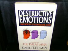 Destructive Emotions A Scientific Dialogue with Dalai Lama - Daniel Goleman - SC