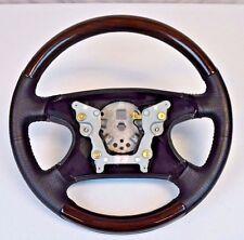 NEW OEM Ford Mondeo Contour Black Ebony Leather Rose Wood Steering Wheel