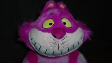 "Cheshire Cat Plush 20"" Alice In Wonderland Soft Toy - Disney Store Ex Condition"