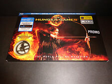 THE HUNGER GAMES w/MOCKINGJAY PENDANT-Jennifer Lawrence competes in games-BLURAY