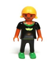 "Playmobil Figure Dollhouse School Halloween ""Bat Girl"" Hispanic Child 4324 5923"