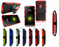 Fundas y carcasas LG de plástico de color principal rojo para teléfonos móviles y PDAs