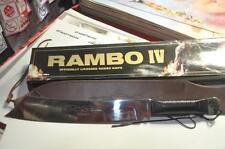 KNIFE PISAU/PARANG RAMBO 4 - Silver Edition