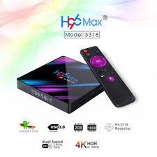 H96 Max Smart Android 9.0 TV Box 4K 2GB+16GB Dual WiFi BT4.0 HD Media Player