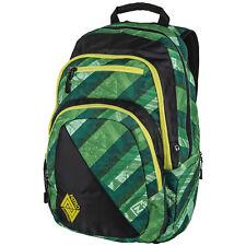 474ef724eb608 Schulrucksack Uni Freizeit Nitro Stash Laptop Rucksack Wicked Green 29 Liter  NEU