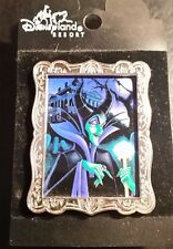 Disney Haunted Mansion Maleficent Villain Character Pin of the Month Frame
