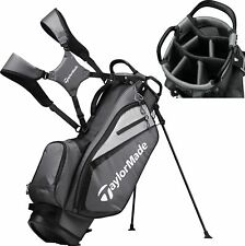 In Stock 2019 TaylorMade Golf Select Stand Bag Gray/Black Black Free Shipping