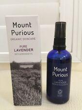 Organic Skincare Lavender Oil Bath & Massage Mount Purious United Kingdom NIB