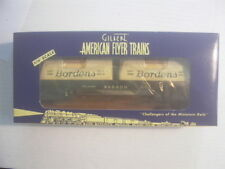 American Flyer #48524 Wabash Flatcar w Bordens Loads NOS,MINT,BOXED,L@@K!
