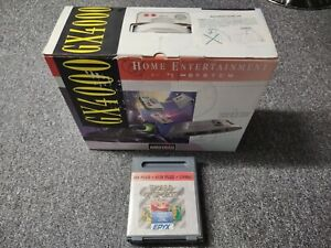 BOXED AMSTRAD GX4000 CONSOLE + BURNIN RUBBER & WORLD OF SPORTS GAMES - MINT
