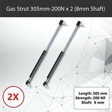 Gas Strut 310mm-200N x2 (8mm Shaft) Caravans, Camper Trailers, Canopy, Toolboxes