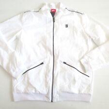 Nike Men Court Varsity Jacket - 830919 - White 101 - Size M - NWT