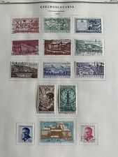 TCStamps 13 Pages 1958-61 CZECHOSLOVAKIA Postage Stamps #891