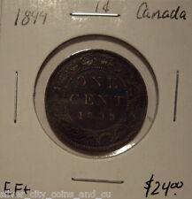 Canada Victoria 1899 Large Cent - EF+