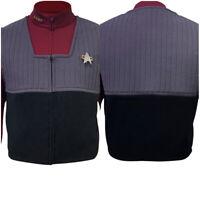 Star Trek NEM Duty Uniform Vest Shirt Halloween Cosplay Costume Vest Suit