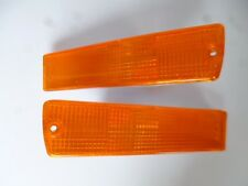VW GOLF GTI MK2 BIG BUMPER TURN LIGHTS AMBER 1991-92 MODELS AFTERMARKETS