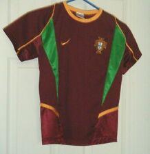 Portugal National Team Futbol Soccer Home Nike Jersey Size 8 Boys Medium Used