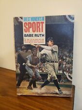 1965 Aurora Model Kit Great Moments in Sports Babe Ruth Box Only.