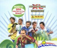 2014 Panini Adrenalyn Road to World Cup Brazil Factory Sealed 24ct Booster Box!
