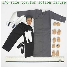 L44-13 1/6 scale Ip Man Kung fu clothing & heat set (Does not contain body)