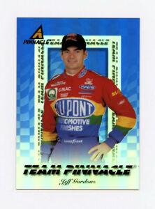 Jeff Gordon & Ray Evernham 1997 Team Pinnacle Blue Acetate Insert Card 1:240 Pks