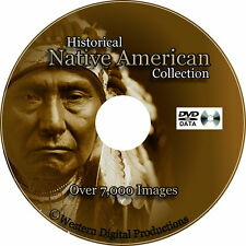 Native American Historical Photo Collection Audio Recordings & Indian Artifacts