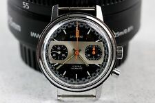 Vintage Sporting Chronograph Wristwatch Valjoux 7733 For Repair/Parts