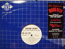"MOBB DEEP + KANYE WEST - THROW YOUR HANDS (IN THE AIR) (12"")  2004!!!  RARE!!!"