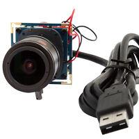 2MP 1080P 30fps/60fps/120fps OV2710 2.8-12mm Varifocal Lens USB Camera Module
