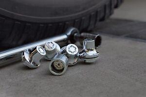 Toyota Sequoia 2000 - 2022 Wheel Locks Kit -  OEM NEW!