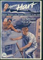 Hanns Hart Nr.11 von 1951 - TOP Z1 Seltene ORIGINAL ABENTEUER ROMANHEFT-RARITÄT