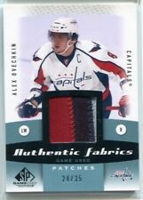 10-11 SP Game Used Authentic Fabrics Patch AF-AO Alex Ovechkin #24/35