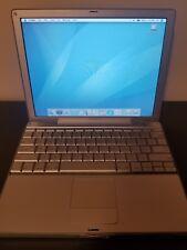 Apple PowerBook G4 12 inch 867MHz PowerPC 384MB RAM 40GB HD OS X 10.4 Tiger