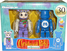 Disney Pixar X'mas 2013 Bearbrick Be@rbrick no.30 Boo X'mas Ver & Monsters, Inc.