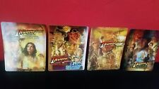 INDIANA JONES 1 2 3 4 Collection 3D Lenticular Magnet Cover for BLURAY STEELBOOK