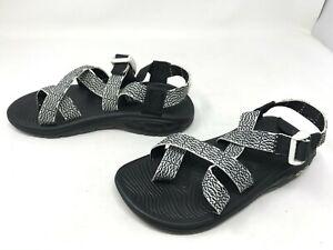 Womens Chaco (J105960) Z/Volv 2 Black/White Sandals (442H)