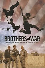 """Brothers at War promotional movie Post card 4""""x6"""" (x2) 2009"""