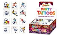 72 Football Tattoos (6 Packs Of 12) - Pinata Toy Loot/Party Bag Fillers Kids