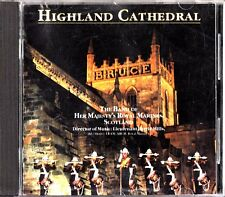 HIGHLAND CATHEDRAL - Her Majesty's Royal Marines Band CD Barrie Mills Brass