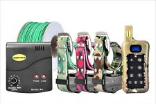 Remote 3 Dog Training Shock Collar Underground Electric Containment Fence Combo