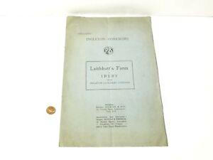 1948 Original Auction Catalogue Laithbutt's Farm Ireby Ingleton Yorkshire