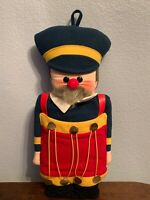 VTG 1981 Hallmark Plush Wall Hanging Christmas Soldier Plush Doll